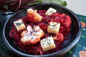 Beetroot and Paneer Curry | Exotic dishes from around the world