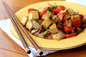 Sweet and Sour Tofu | Exotic dishes from around the world