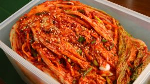 Kimchi -  Exotic healthy foods